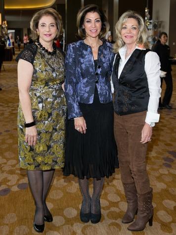 Lydia Novakov, Marian Bryan and Cindy Feld