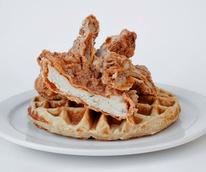 24 Diner chicken and waffles Austin restaurant