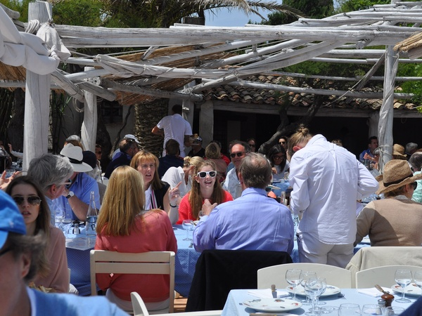 Inside the hottest club in the french riviera land of 400 lunches culturemap houston - Club 55 saint tropez ...