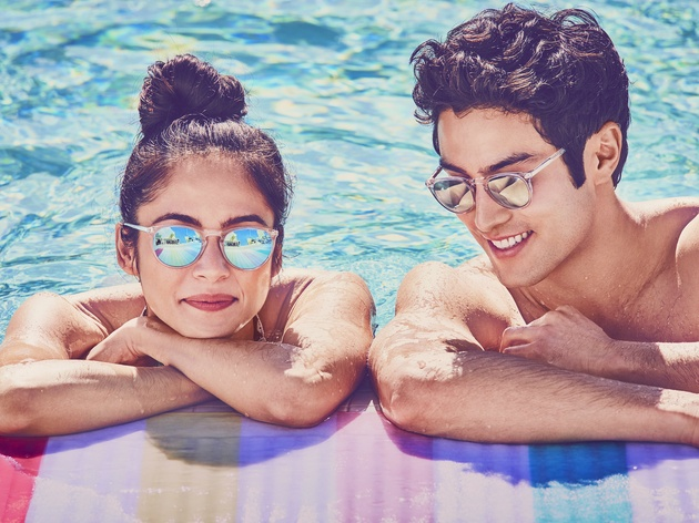 Warby Parker Summer 2017 Haskell sunglasses