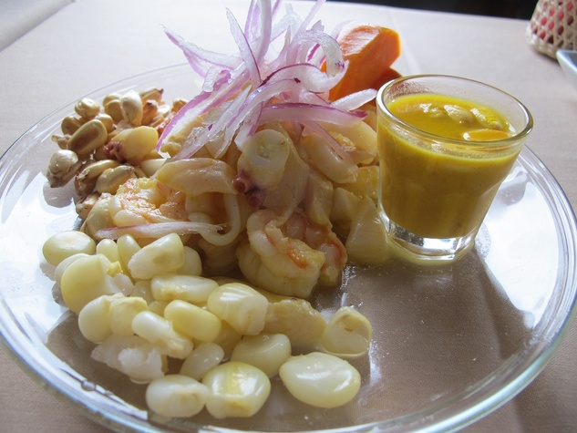 Ruthie, Latin Bites Cafe, Ceviche Mixto.jpg