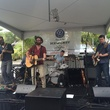 The Roosevelts playing at hula hut party for Tyler's Dam that Cancer