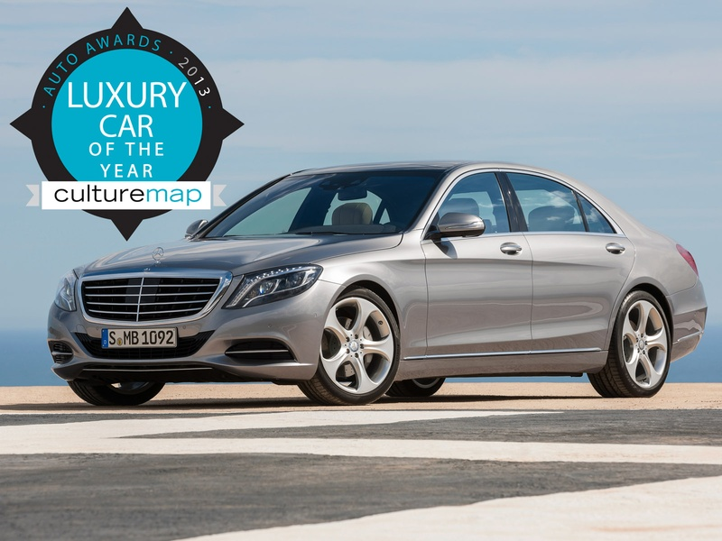 Slideshow luxury car of the year mercedes benz s class for Mercedes benz of clear lake