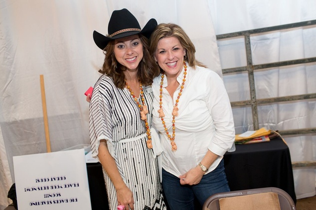 Cattle Baron's Ball 2015 Lauren Maloy and Monica Weldon