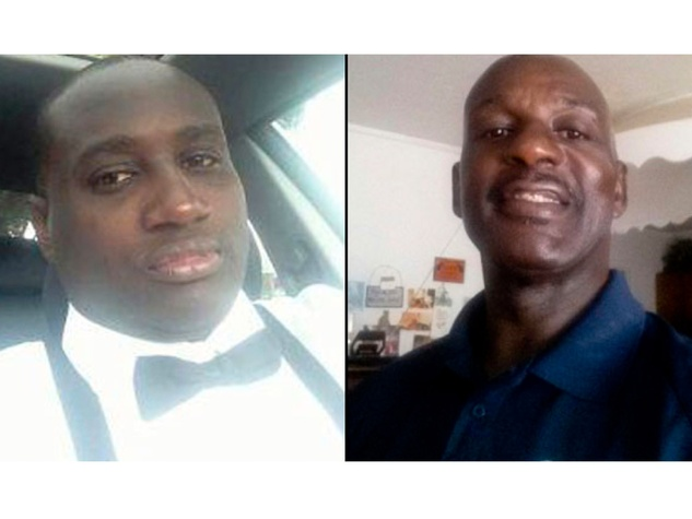 Harvey Simmons, left, his Uncle Johnny Simmons, right, and a teenager were gunned down at a Stafford car wash on Sunday, Sept. 29, 2013