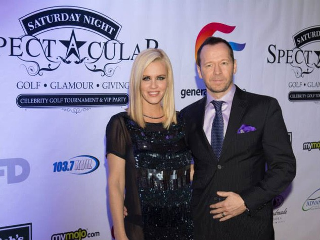 Jenny McCarthy, Donnie Wahlberg at Saturday Night Spectacular