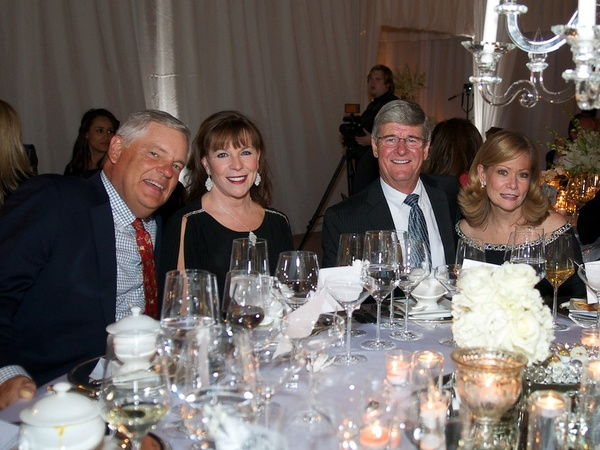 Roemer-Saks Fifth Avenue Party, November 2012, Mike Larson, Susan Larson, Richard Rawson, Dawn Rawson