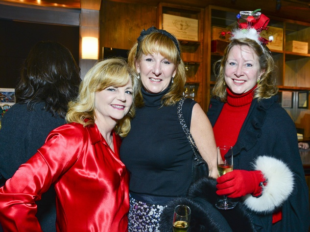 2 Kim Padgett, from left, Shelley Reeves and Evelyn Fasnacht at Joyful Toyful December 2013