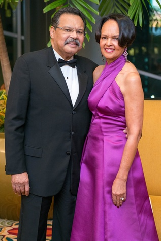 Don and Gayla Gardner at the Winter Ball January 2015