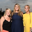Emily White, Natali Czarneski, Courtney Sutton at Barbara Bush Foundation kickoff
