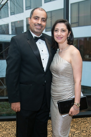 Komen Foundation 25th Gala, Feb. 2016, Dr. Mothaffar, Lara Rimawi