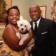 Ashley Turner, Mayor Sylvester Turner and Little Orphan Annie at BARC Gala