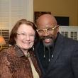 1 Kathy Hubbard and Rudy Rasmus at Cindy Clifford's birthday bash November 2014