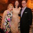 377, HGO Ovation Awards announcement and reception_March 2013, Caroline Starry Leblanc, Kate Stukenberg and James Glassman