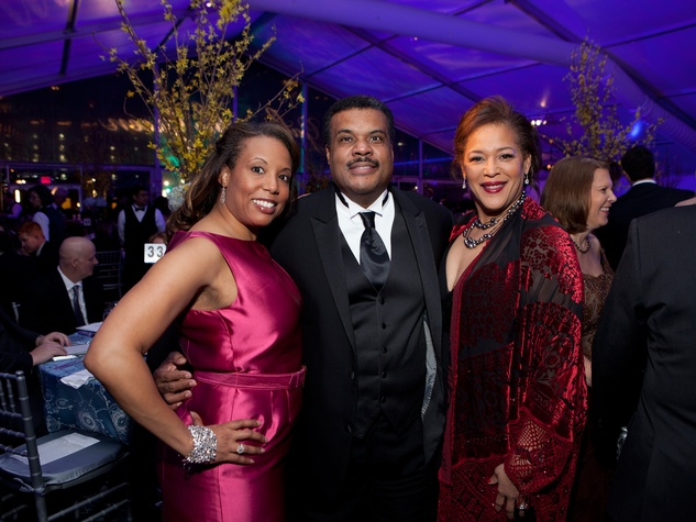 27 Saundria and Jerome Gray, from left, with Desrye Morgan at Gala on the Green February 2014