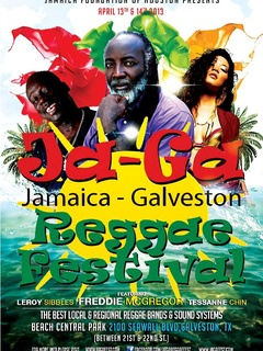 Jamaica Foundation of Houston's Ja-Ga Reggae Festival