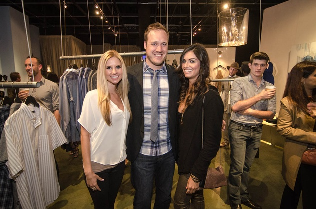 Austin Fashion Week kick off party at estilo 2013 Meredith Davis, Justin Brown and Amanda Lyons