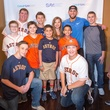 Houston, George Springer All Star Bowling Benefit for Camp Say, June 2017, George Springer and kids from Say