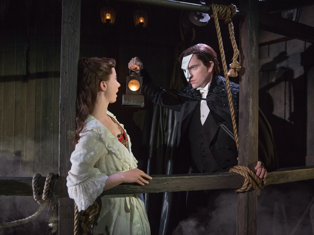 Broadway at the Hobby Center January 2015 Phantom Katie Travis and Chris Mann