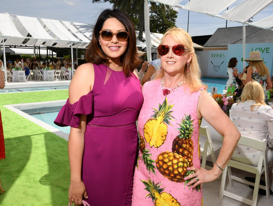 Houston, River Oaks and Tootsies tennis tournament luncheon, April 2017, Rekha Muddaraj, Courtnay Tartt Elias
