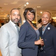 6 Hil Huckaby, from left, Liz Tucker and Jacques Davis at the Neiman Marcus Men's Fall Trend Event September 2014