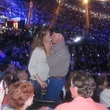 Eric Clapton, couple dancing, Toyota Center, March 2013