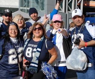 Dallas Cowboys fans