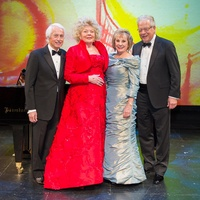 1 Jerry and Bobbie-Vee Cooney, from left, and Dian and Harlan Stai at HGO Concert of Arias February 2014