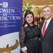 Lesha and Tom Elsenbrook at the Women of Distinction announcement party October 2014