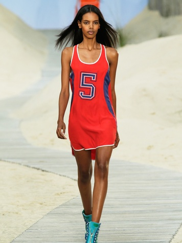 Fashion Week spring summer 2014 Tommy Hilfiger Look 30