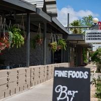 Austin Motel Fine Foods patio