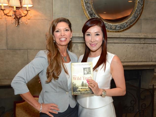 Women's Home Luncheon 2015 Carine McCandless, Mandy Kao