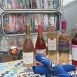 Ida Claire Airstream and rose wine