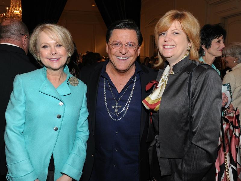 Carol Ronchetti, Joe Pacetti, Elizabeth Hunt-Blanc, Salvation Army Luncheon