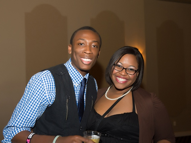 29 Austin Hollimon and Jasmine Thomas at Links Boots & Bling February 2014