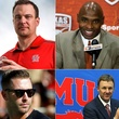 Houston, hottest college football coach in Texas, August 2015, collage