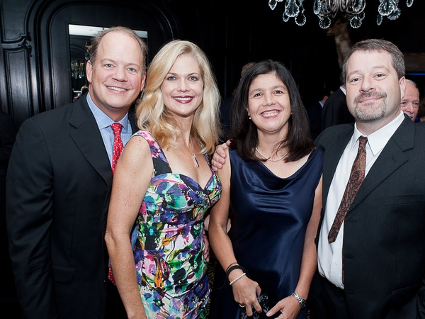 5, Houston Health Museum gala, September 2012, Rob Pierce, Amy Pierce, Dr. Rosanna Palominos, Nicholas Patrick