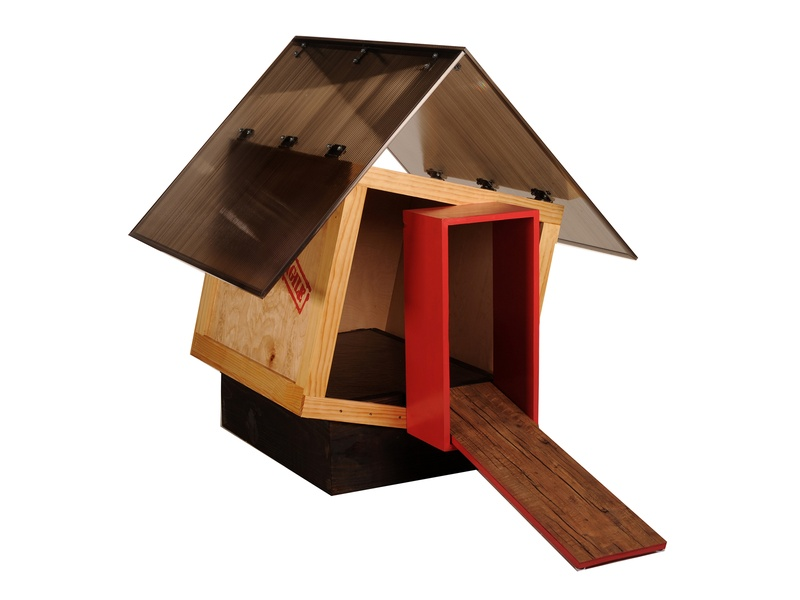 Barkitecture, dog houses, October 2012, Clerkly Watkins