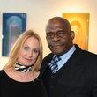 "Donna Valverde and David Winans Jr. at the Valvisions Foundation ""Cinema, Canvas & Cuisine"" March 2015"