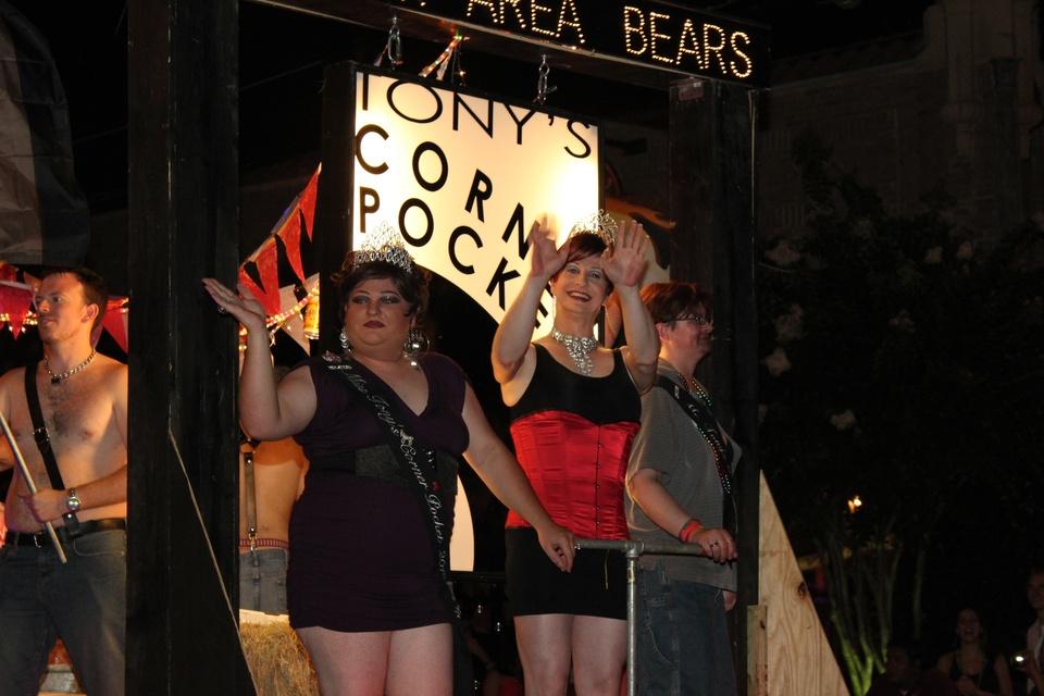 Gay Pride Parade, Houston Area Bears Float, June 2012