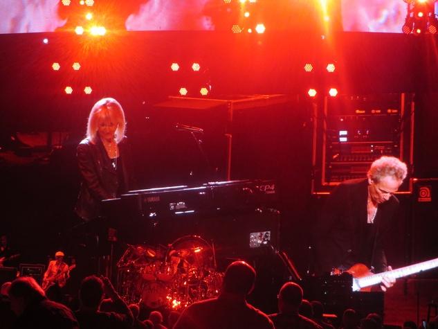 Jane Howze Fleetwood Mac December 2014 Christine McVie and Lindsay Buckingham
