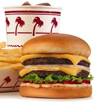 In-N-Out Burger meal