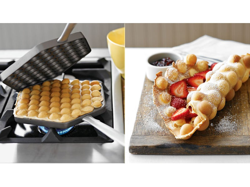 Hong Kong's incredible egg waffles knows that neither Belgian waffles ...