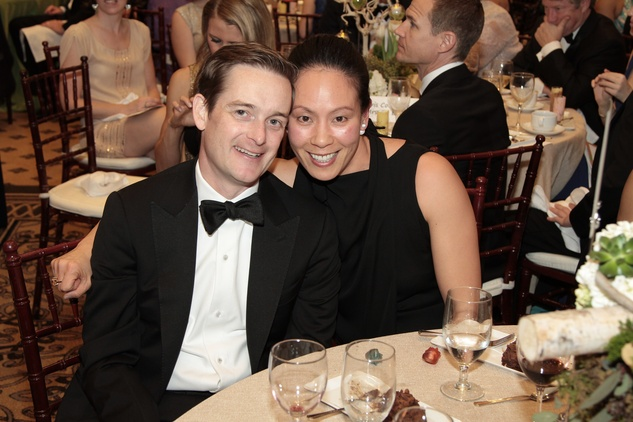 News, Shelby, Park Lover's Ball, Feb. 2015, John and Ting Bresnahan