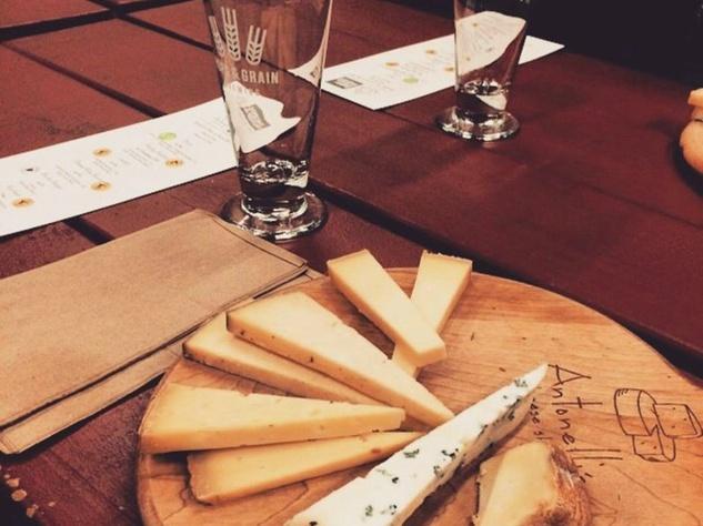 Hops & Grain Brewery Antonelli's Beer and Cheese Pairing 2014