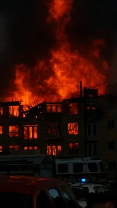Montrose fire March 2014