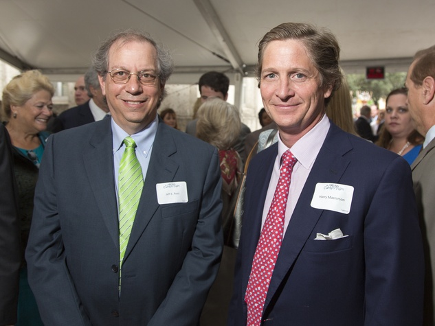 Houston Parks Board Luncheon Jeff E. Ross, Harry Masterson