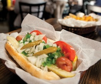 Frank restaurant Austin chicago hot dog LANDSCAPE CROP