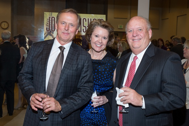New, Celebration of Reading, John Grisham with Martha and Mark Carnes, April 2014