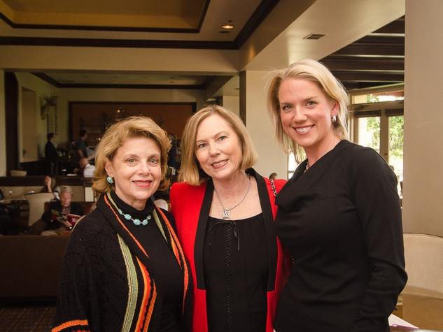 9 Alyce Alston party April 2013 Carolyn Hodge, Jody Rushton and Kim Chambers